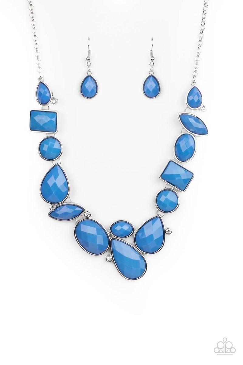 Mystical Mirage Blue Necklace