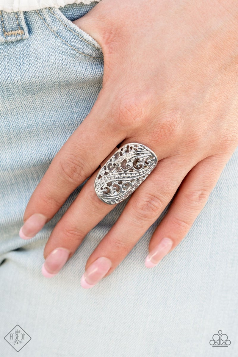 Pier Paradise Silver Ring - PREORDER August FF