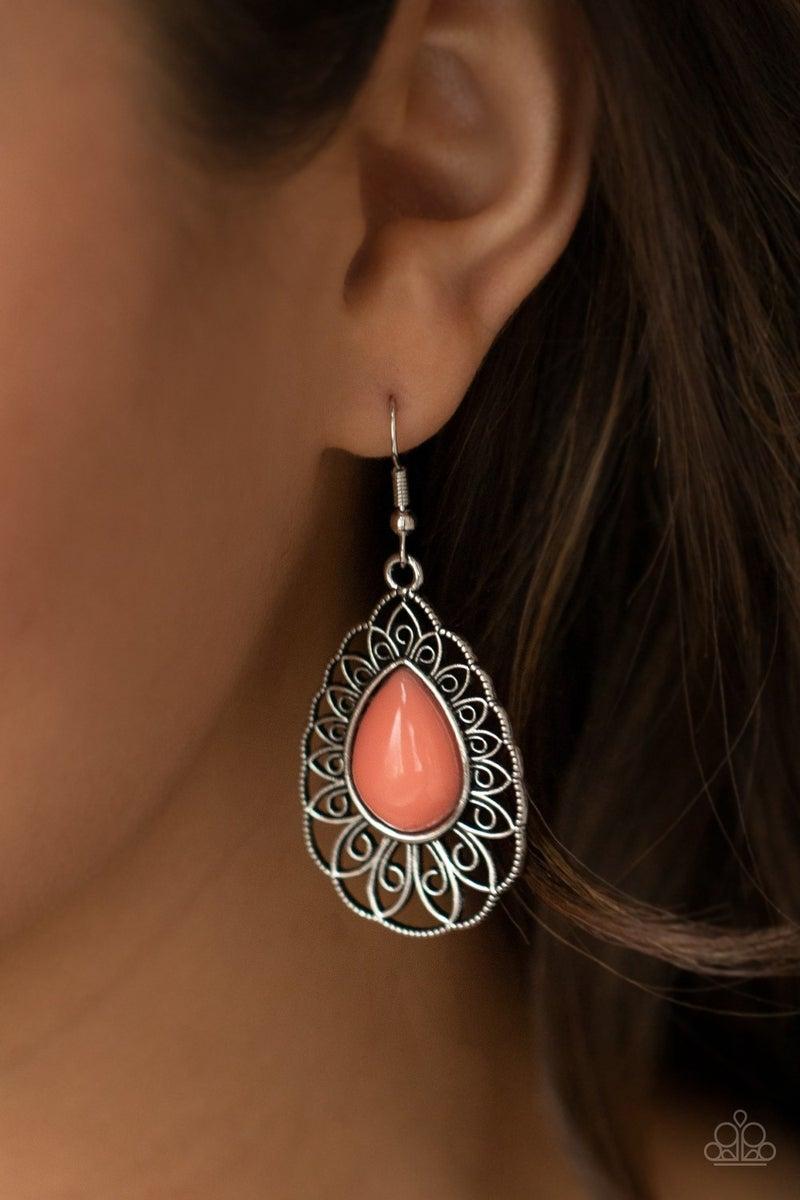 Dream STAYCATION Orange Earring - PREORDER