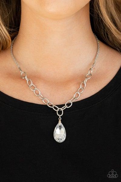 Mega Modern Silver Necklace