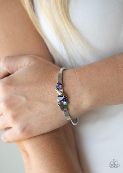 Gemstone Grotto Purple Bracelet