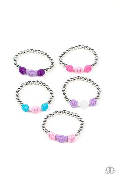 Starlet Shimmer Roses Bracelet - 5 Pack