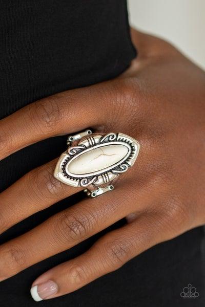 Santa Fe Serenity White Ring