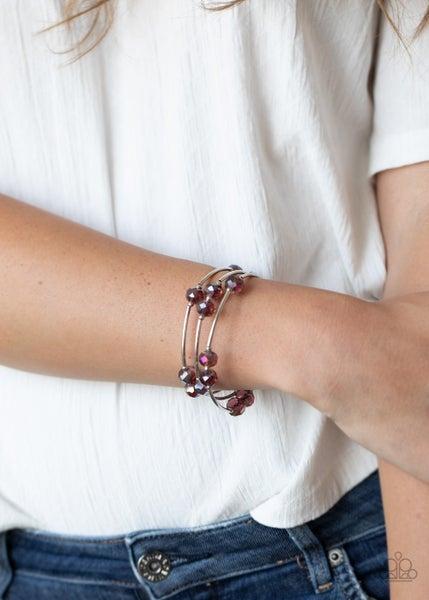 Dreamy Demure Purple Bracelet