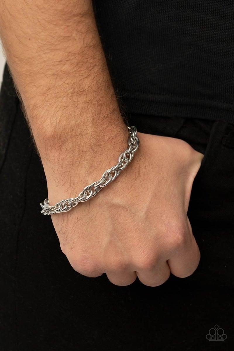 Executive Exclusive Silver Urban Bracelet