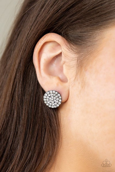 Greatest of All Time Black Post Earring