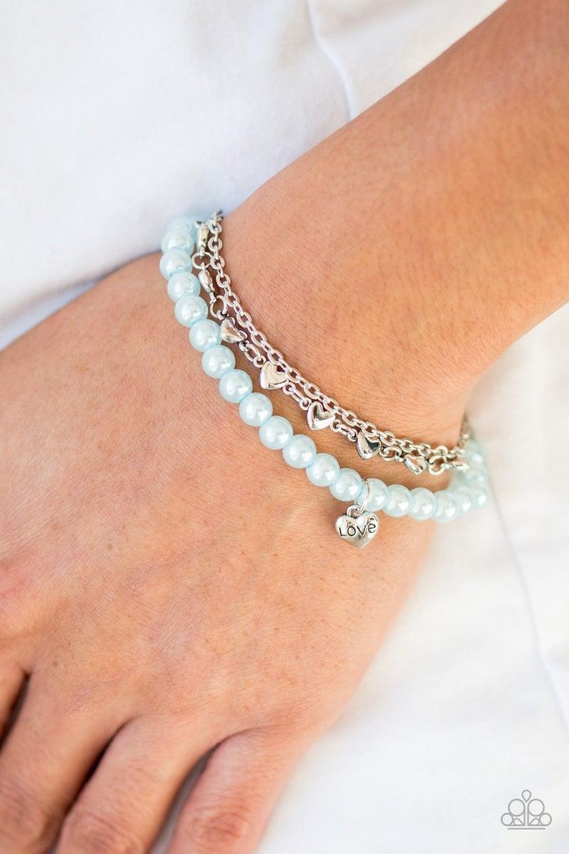 Love Like You Mean It Blue Bracelet