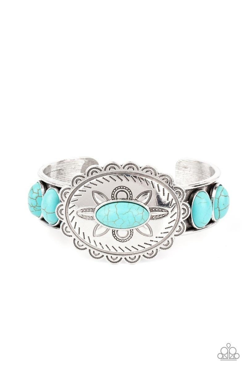 Canyon Heirloom Blue Crackle Bracelet