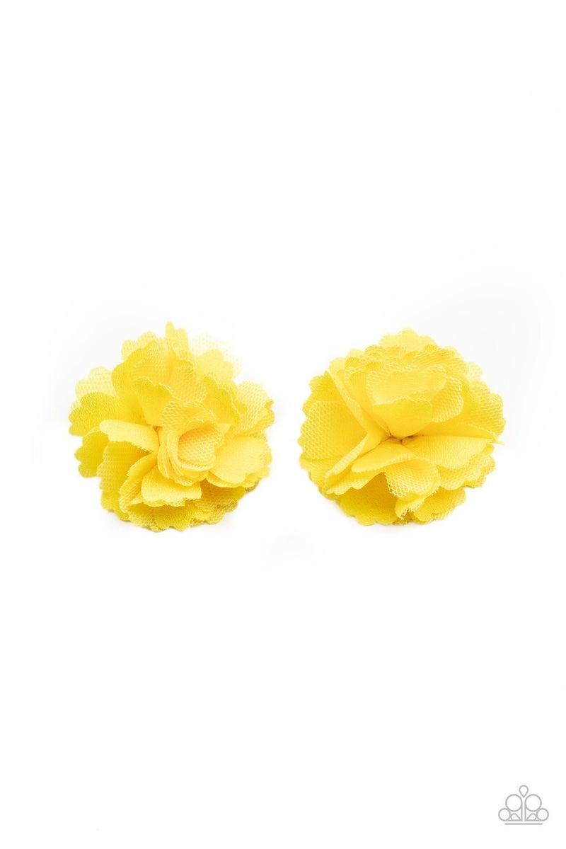 Never Let Me GROW Yellow Hair Clip - PREORDER