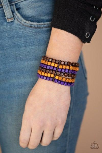 Tropical Thunder Purple Bracelet