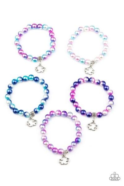 Starlet Shimmer Cloud Charm Bracelets - 5 pack