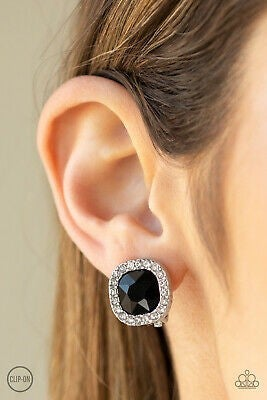 Bling Tastic! Black Clip On - Sparkle with Suzanna