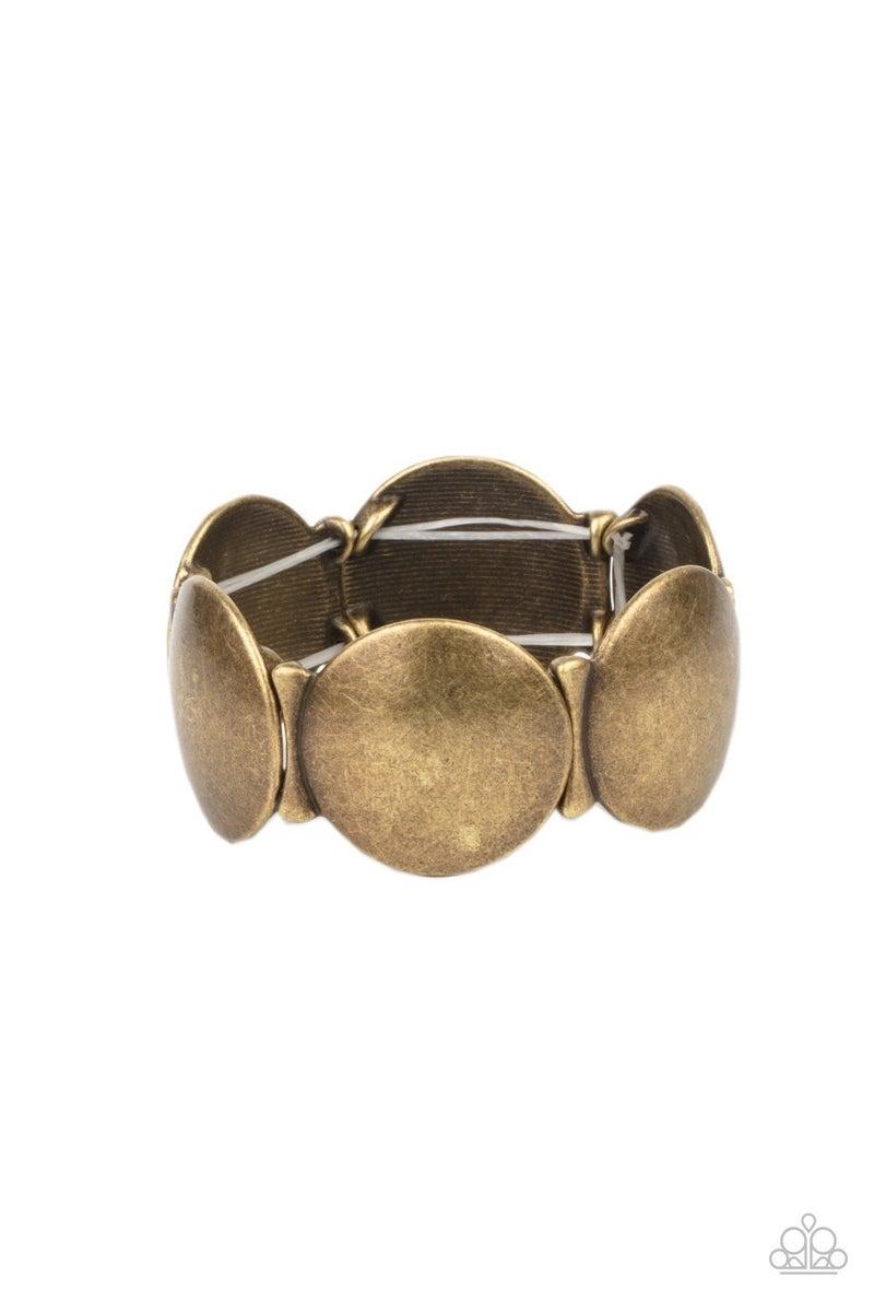 Going, Going, GONG! - Brass Bracelet - PREORDER