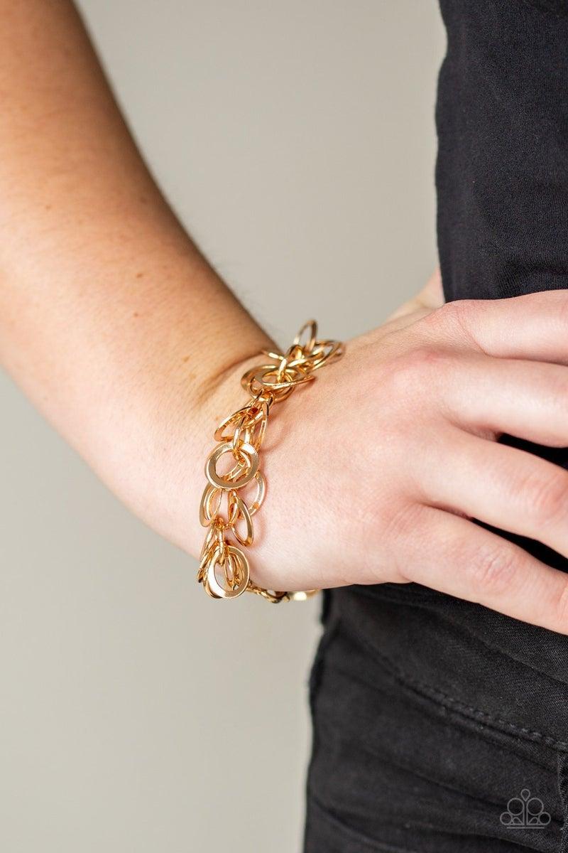 Noise Control Gold Bracelet