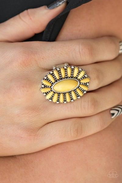 Cactus Cabana Yellow Ring