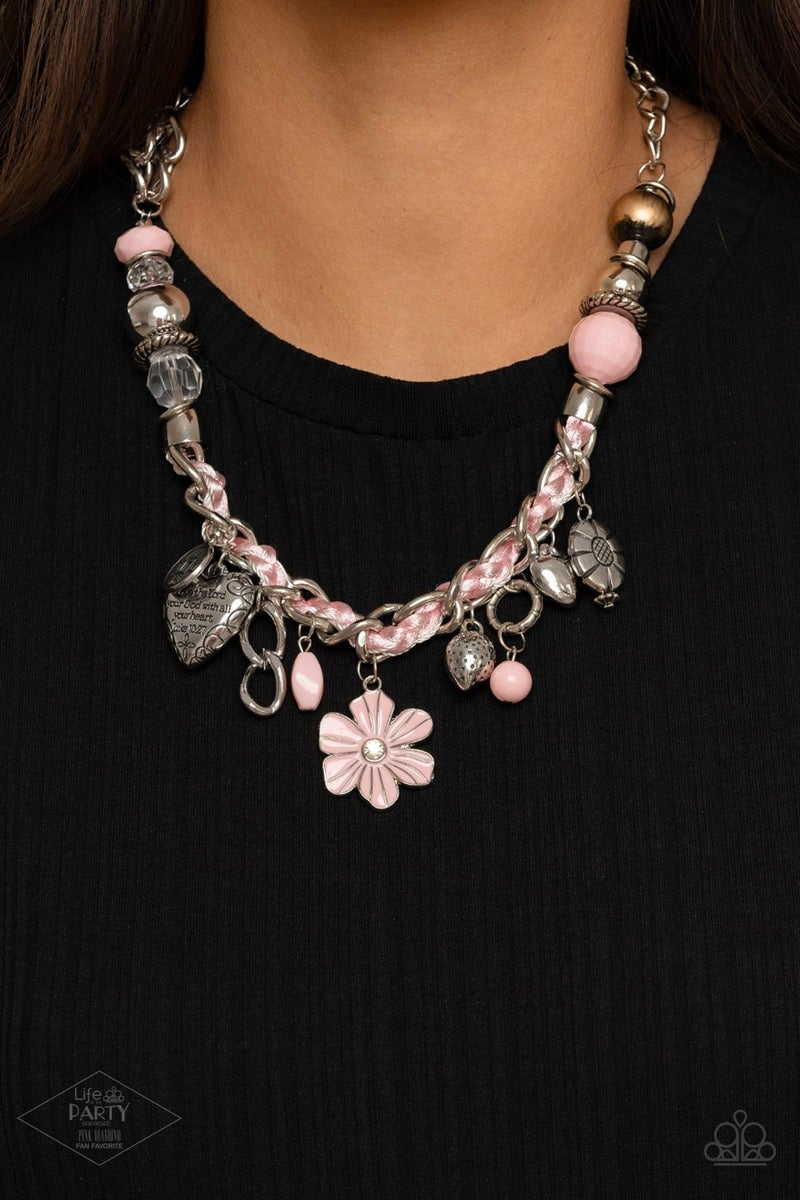 Charmed, I Am Sure Pink Necklace - PREORDER