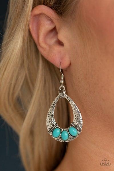 Terra Terrific Blue Earring
