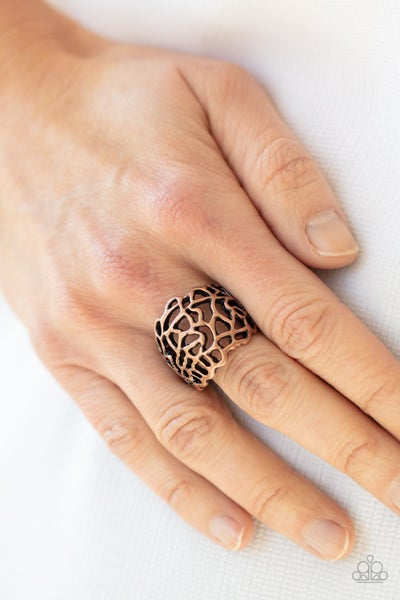Get Your FRILL Copper Ring