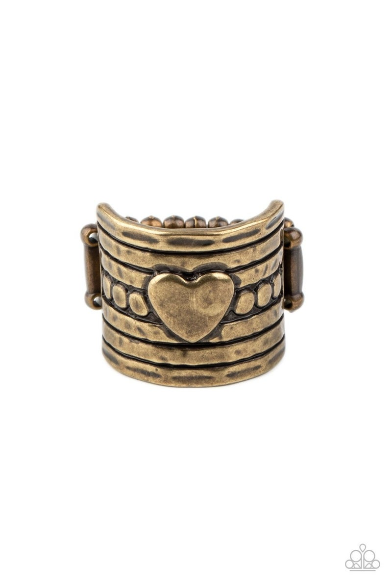 Don't  Lose Heart Brass Ring