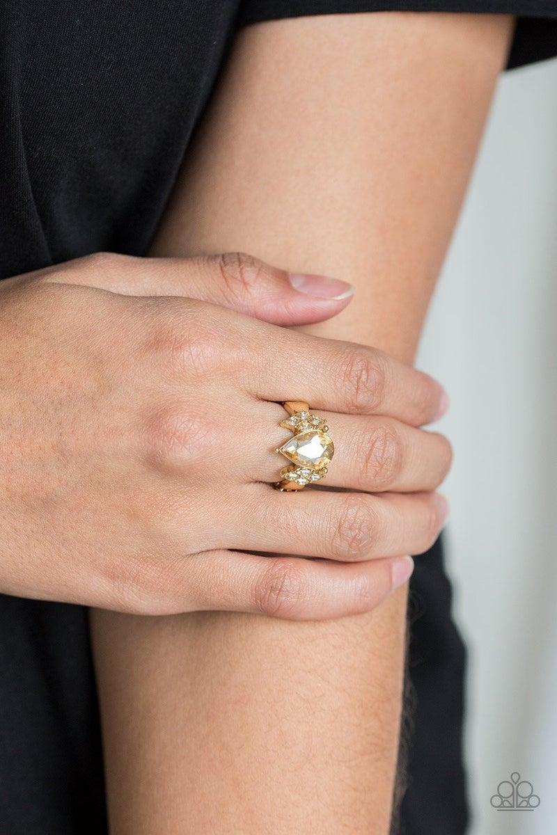 Yas QUEEN Gold Ring