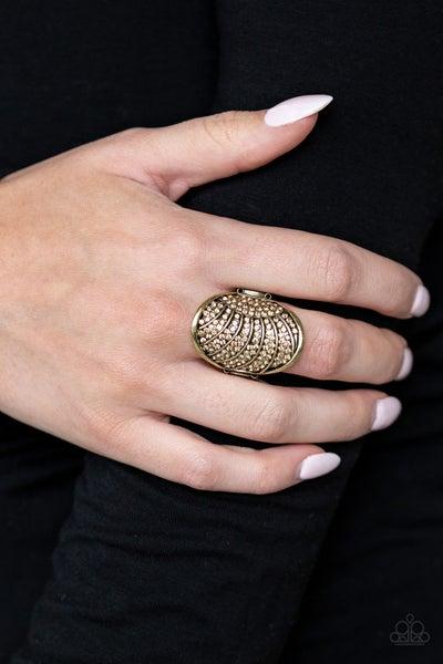 Dazzle Daze Brass Ring