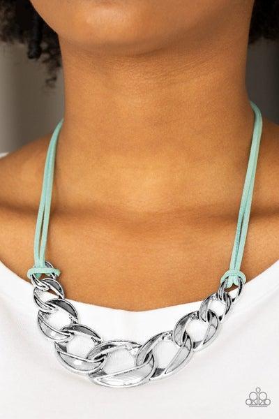 Naturally Nautical Green Necklace