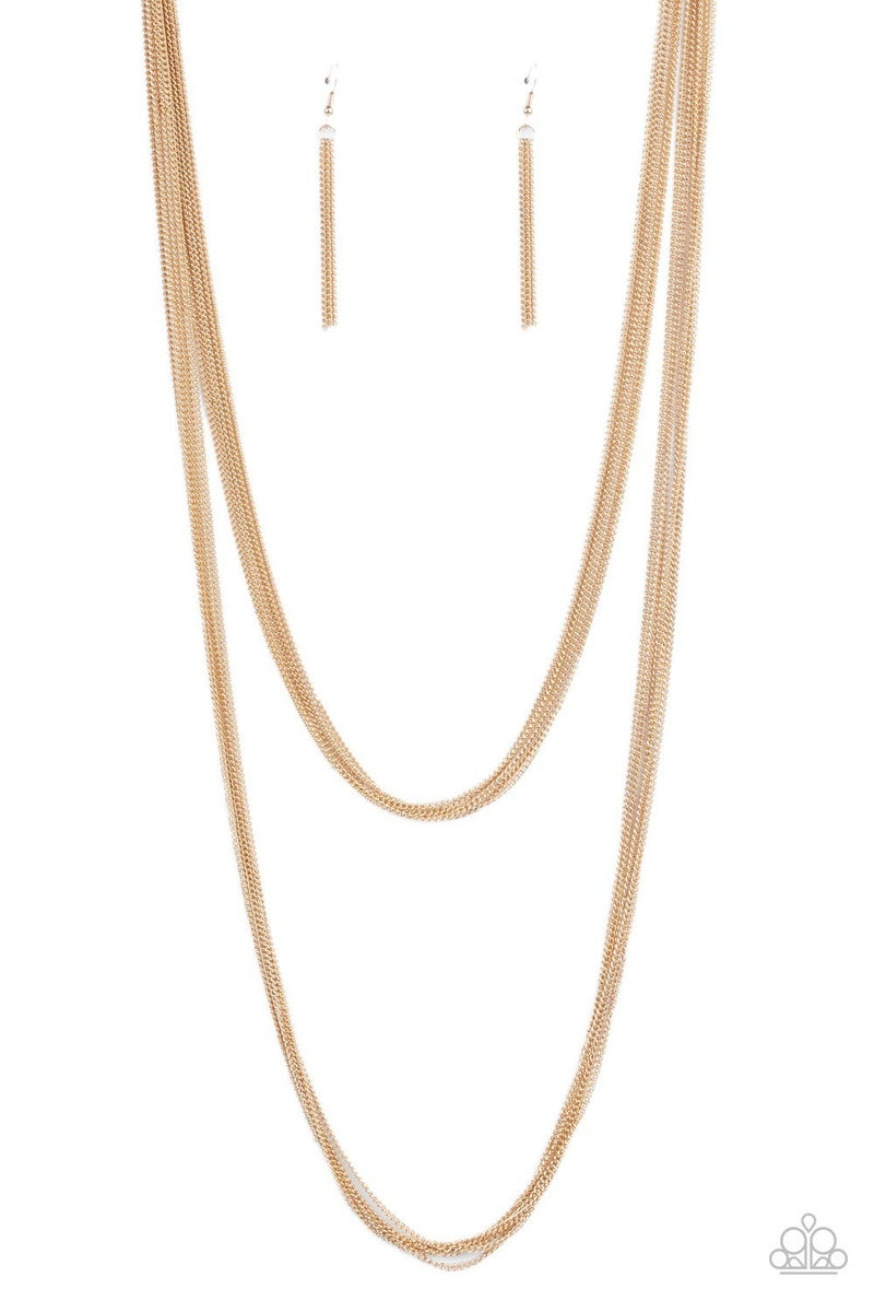 Save Your TIERS Gold Necklace