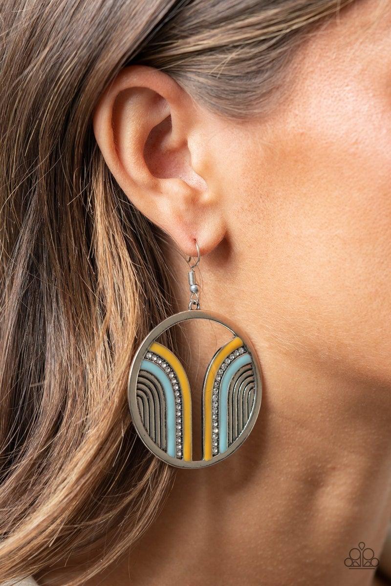 Delightfully Deco Multi Earring