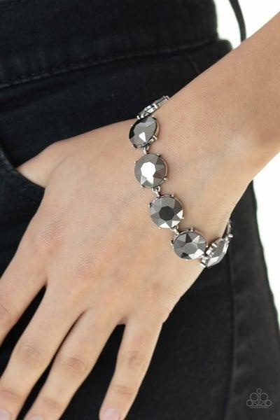Fabulously Flashy Silver Bracelet - Sparkle with Suzanna