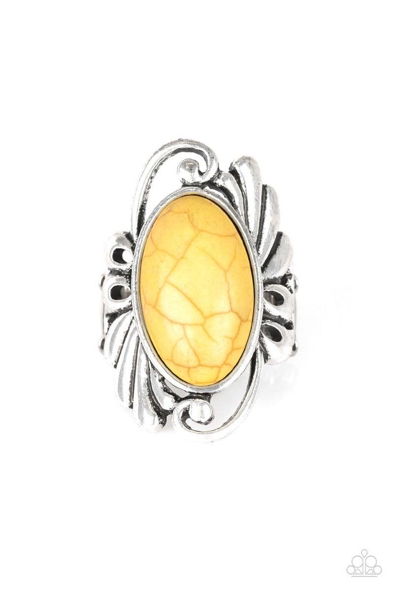 Sedona Sunset Yellow ring