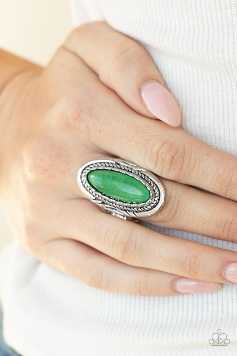 Primal Instincts Green Ring