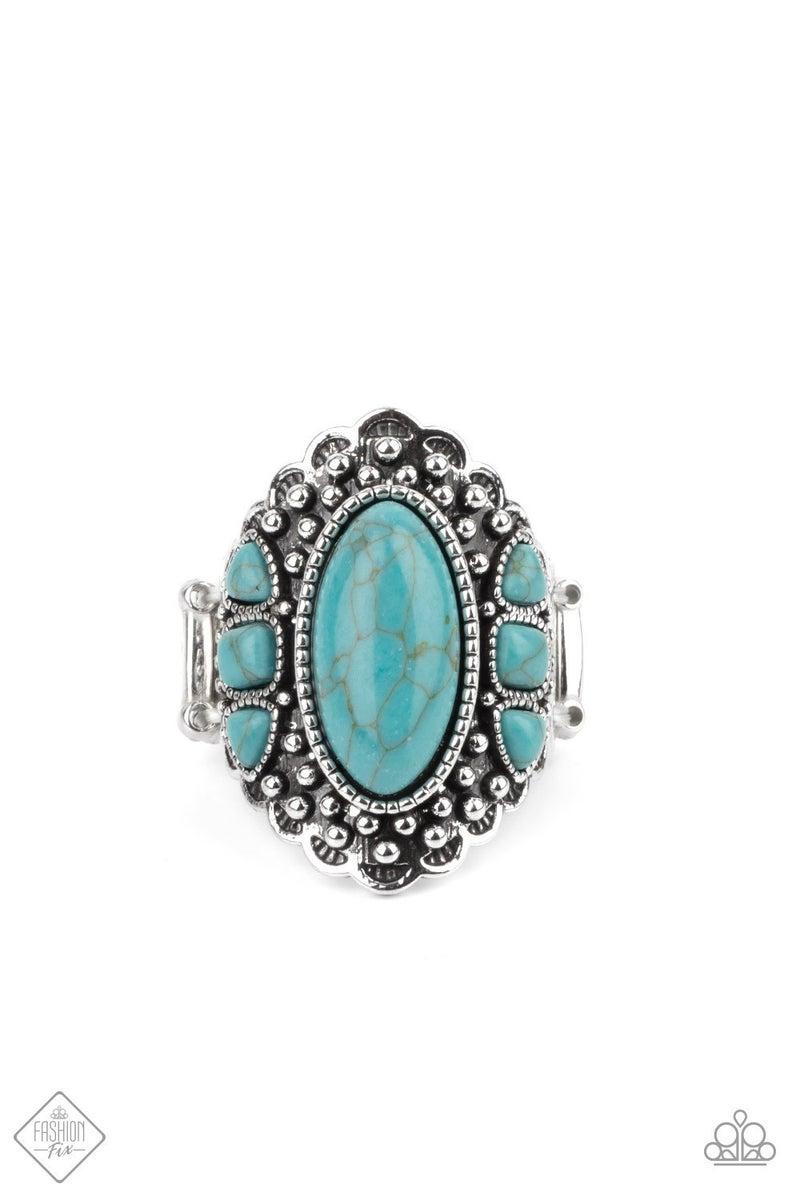 Rustler Road Blue Ring - Fashion Fix