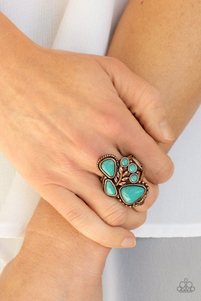 Mystical Mesa Copper Ring
