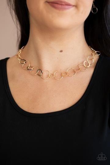 Revolutionary Radiance Gold Necklace