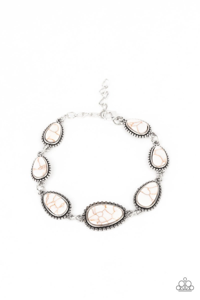 Elemental Exploration White Bracelet - PREORDER