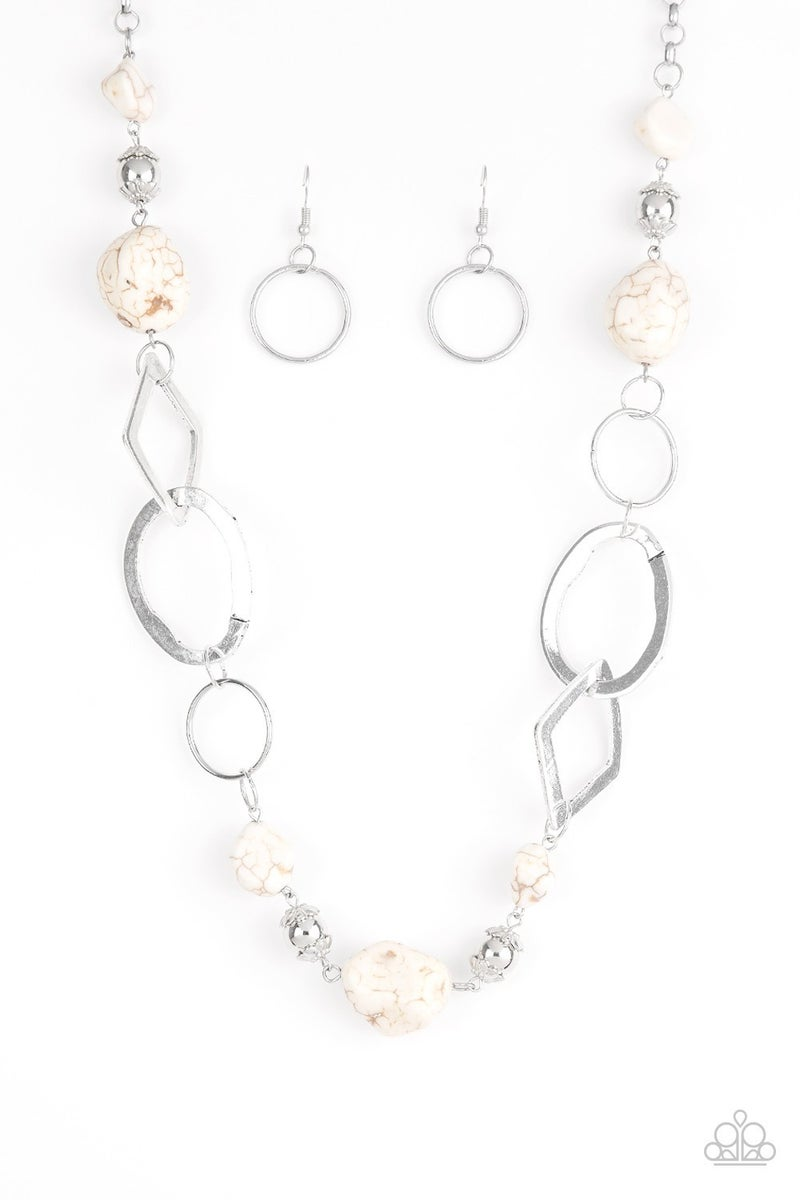 Thats TERRA-ific! White Necklace - PREORDER