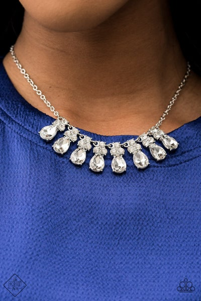 Sparkly Ever After White Necklace