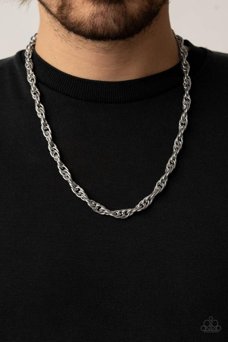 Extra Entrepreneur Silver Urban Necklace