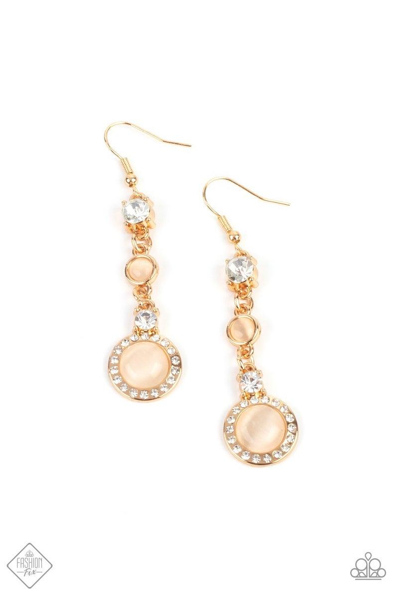Epic Elegance Gold Earring - Fashion Fix