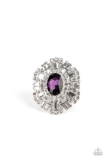 Iceberg Ahead Purple Ring