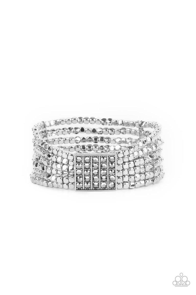 Star-Studded Showcase Silver Bracelet