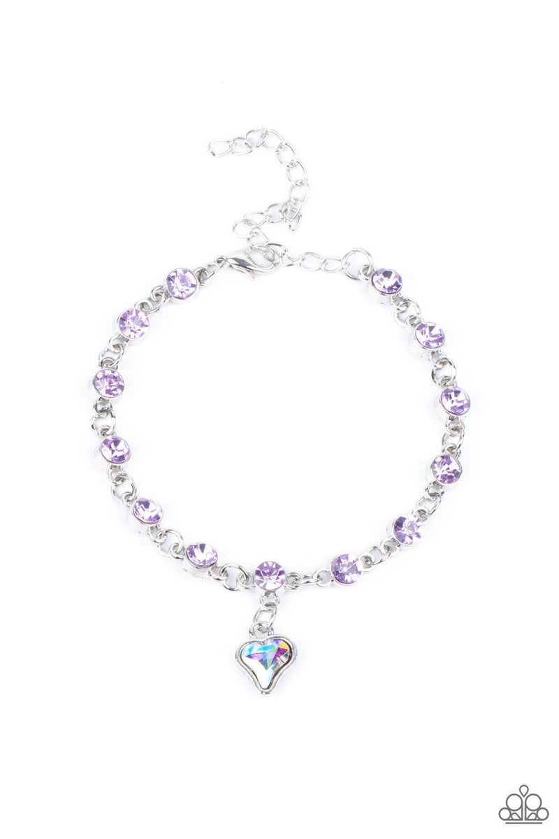 Sweet Sixteen Purple Bracelet
