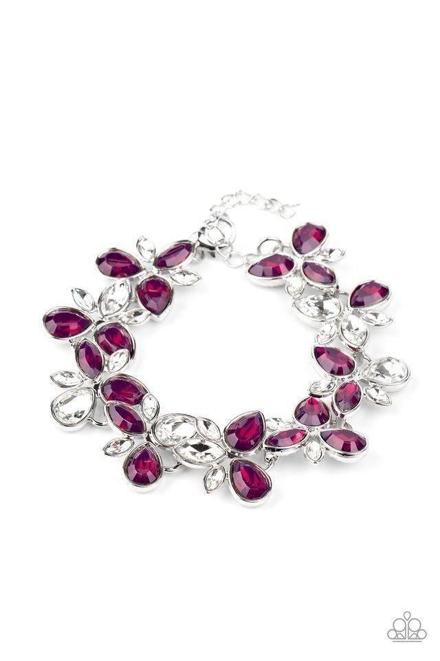 Ice Garden Purple Bracelet