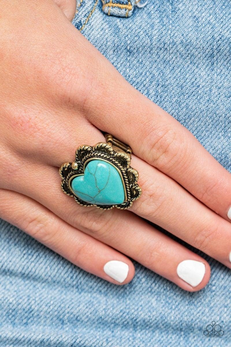 Dessert Desire Brass Ring