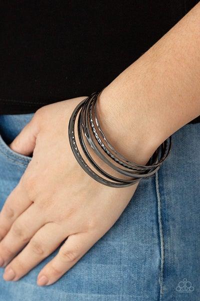 How Do You Stack Up Black Bracelet