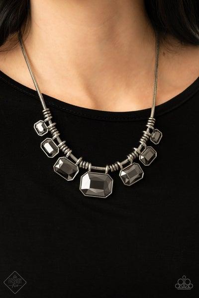 Urban Extravagance Silver Necklace