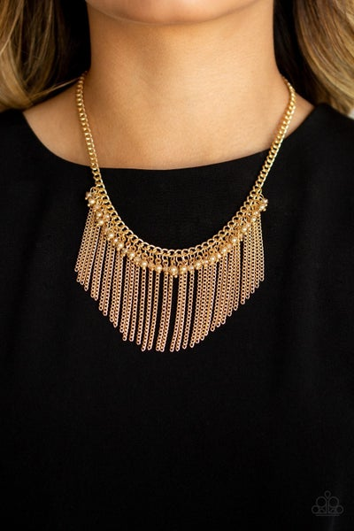 Divinely Diva Gold Necklace