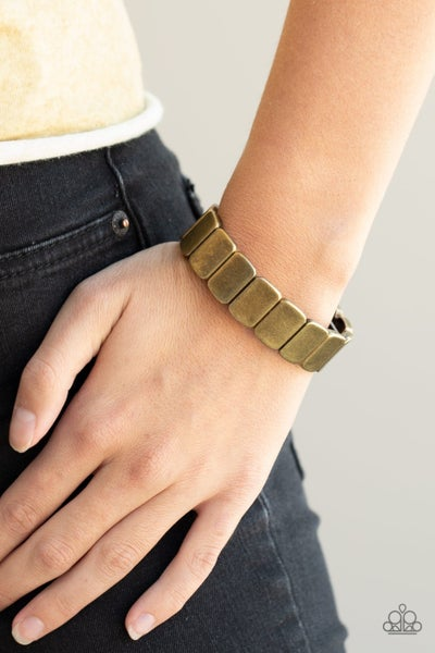 Retro Effect Brass Bracelet - Sparkle with Suzanna