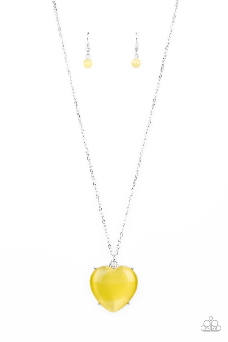 Warmhearted Glow Yellow Necklace