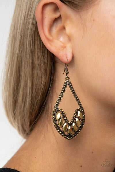 Ethereal Expressions Brass Earring